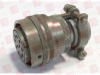 ITT MS3116F18-11S ( CIRCULAR CONNECTOR PLUG SIZE 18, 11 POSITION, CABLE; MILITARY SPECIFICATION:MIL-DTL-26482 SERIES I; CIRCULAR CONNECTOR SHELL STYLE:STRAIGHT PLUG; NO. ) -Image