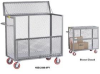 All-Welded Mobile Security Box Trucks -- HSB-2460-6PY -Image