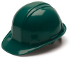 Pyramex HP14135 Hardhat Green With Ratchet, CSA Approved -- HARDHAT14135GRE
