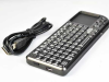 3-in-1 Mini Tiny Wireless Keyboard 2.4GHz Multimedia Handheld Keyboard with Built-in Touchpad Laser -- KEY-M-01 - Image