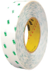3M 966 Adhesive Transfer Tape 1 in x 60 yd Roll (Single) -- 966 1 X 60 (ROLL) -Image