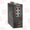 BLACK BOX CORP LEH906A-2GSFP ( HARDENED MANAGED ETHERNET SWITCH, (6) 10/100-MBPS, (2) GE SFP, DIN-RAIL, DC ) -Image