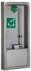 Surface Mounted Pull Down Eye/face Wash With AXION MSR™ Eye/face Wash Head, In A Stainless Steel Cabinet -- 7655WCSM