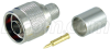 Type N Male Crimp for RG8, 400-Series Cable -- ANM-1406