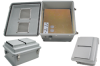 14x12x7 Inch Universal 100-250 VAC Weatherproof Enclosure with Vented Cover -- NB141207-E0V