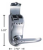 Fingerprint lock - Standard Right Push -- FLPE1-RPH