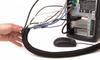 Semi-Rigid PET Sleeve with Split Wrap for Easy Installation -- SILVYN® SW/SW FR