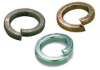 Square Section Spring Washer - Brass -- Square Section Spring Washer - Brass