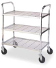 Cart,Wire,2 Shelves -- A2436ZP33UC-2