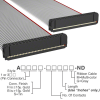 Rectangular Cable Assemblies -- A3AAB-4036G-ND -- View Larger Image