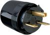 Medium-Duty Dead Front Plug, Black -- 5666BK -- View Larger Image
