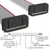 Rectangular Cable Assemblies -- A3AAH-1636G-ND -Image