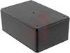 Enclosu;Desktop;Instrument;ABS Plastic;4.6x3.1x1.77 in.;General Use;Blak;Utility -- 70196776