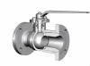 1 Piece Body Cast Floating Flanged Ball Valve - Image