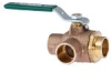 2-Piece, Full Port, Lead Free* Diverter Ball Valve -- LFB6780, LFB6781 - Image