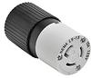 15A Electrical Connector: locking, 125VAC, NEMA L5-15 -- 4732NC - Image