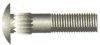 Ribbed Neck Carriage Bolts -Image
