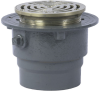 Floor Drain with Round Heavy Duty Strainer -- FD-200-B -- View Larger Image