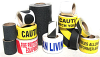 Anti-Slip Tapes -- 189Y-B Yellow and Black Stripe Anti-Slip Grit Tape - Image