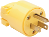 Medium-Duty Plug, Yellow -- 4867Y -- View Larger Image
