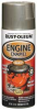 Engine Enamel,Aluminum,16 oz,Spray -- 4YKY7