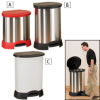 RUBBERMAID Step-On Containers -- 3103602