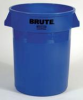 Rubbermaid Brute® 44-Gallon Container - 2643 (Blue) -- RM-2643BLU