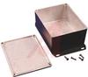 Enclosure; Diecast Aluminum Alloy; 1.5 in.; 3.62 in.; Black; 0.08 in. -- 70164222