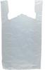 HDPE White T-Shirt Bags -- 50012