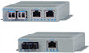 10/100 Media Converter with Power over Ethernet -- OmniConverter™ FPoE/SL, FPoE/S and FPoE+/S