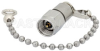 2 Watt RF Load with Chain Up to 40 GHz with 2.92mm Male Passivated Stainless Steel -- PE6177 -Image