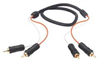 2 Line Audio RCA Cable, RCA Male / Male, 3.0 ft -- CCR2MM-3 - Image