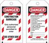 Brady Equipment Safety Tag - 132423 -- 754473-84509