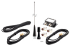 Tri Band Duplexed Antenna Kit 108-174 450-520 746-870 MHz NMO Mount/N Type Connectors -- PE51AK1003 -Image