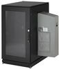 ClimateCab NEMA 12 Server Cabinet with M6 Rails and 8000-BTU AC Unit, 24U, 230V, 51