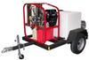 Vanguard Powered Hot PressureWasher 3,000psi@4.8gpm -- HT-SK30005VH-T185SK