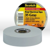 Scotch® Professional Grade Color Coding Vinyl Electrical Tape 35 - Gray - 3/4