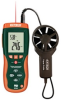 CFM/CMM Thermo-Anemometer with built-in InfaRed Thermometer -- EXHD300