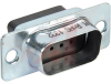 CONNECTOR,D-SUB,PLUG HOUSING LESS CONTACTS,FOR 9 CRIMP PIN CONTACTS -- 70152778