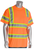 PIP 313-CNTSPLY Orange Polyester High-Visibility & Reflective Shirt - T-Shirt - ANSI Class 3 Rating - Fits 57.1 in Chest - 33.5 in Length - 616314-82740 -- 616314-82740