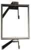 12U Wall-Mount Pivoting Open Frame Rack -- SRWO12US