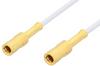 SSMB Plug to SSMB Plug Cable 24 Inch Length Using RG196 Coax, RoHS -- PE3122LF-24 -Image