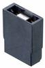 2 Pos. Female Jumper Socket, Open Shunt, Black -- M7567-05 -- View Larger Image