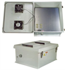 20x16x11 Inch 120VAC Weatherproof Enclosure w/ Solid State Fan & Heat Controller -- NB201611-1HFS -Image