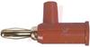 Banana Jack; Banana Plug; 15 A; Red; Beryllium Copper; 5000 Vrms (Max.) -- 70197211