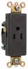 Duplex/Single Receptacle -- 26261-BK -- View Larger Image