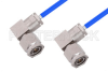 TNC Male Right Angle to TNC Male Right Angle Cable 12 Inch Length Using PE-141FLEX Coax, RoHS -- PE3CA1045-12 -Image