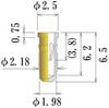 Medium Size Socket Pin -- PDK2081-65-GG -Image