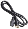 8ft NEMA L6-20P USA 3 pin Plug to C19 SJT Power Cord -- SF-5318-08B - Image