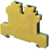 Terminal Block; Wire-to-Wire; Screw-Cage; 9 mm; Polyamide 6.6; Green/Yellow -- 70078332